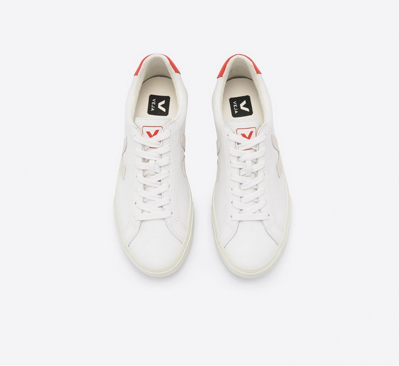 Sneaker Herren Campo Leather White Natural