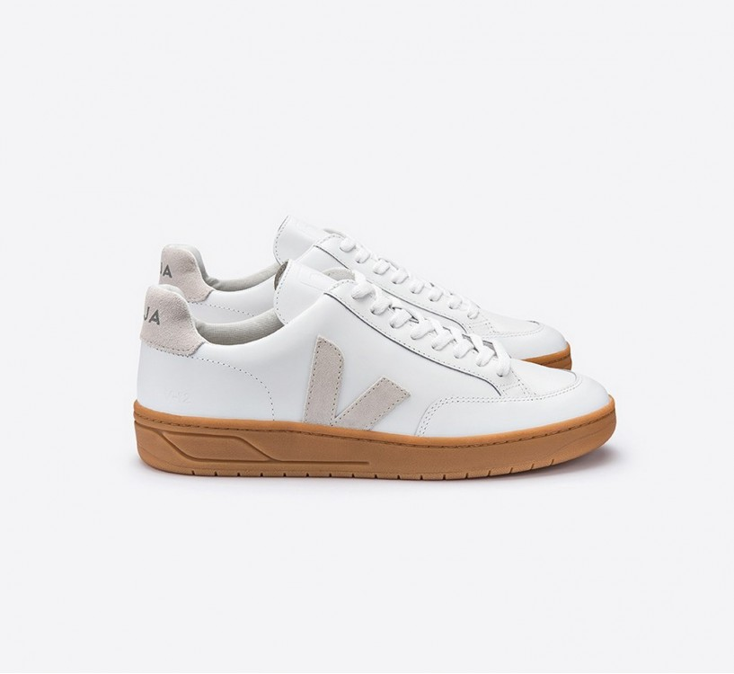 V12 COURO EXTRA WHITE NATURAL NATURAL SOLE