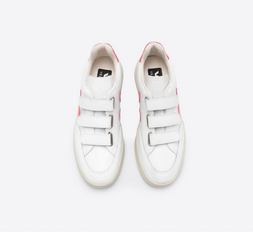 V-LOCK COURO EXTRA WHITE ROSE FLUO