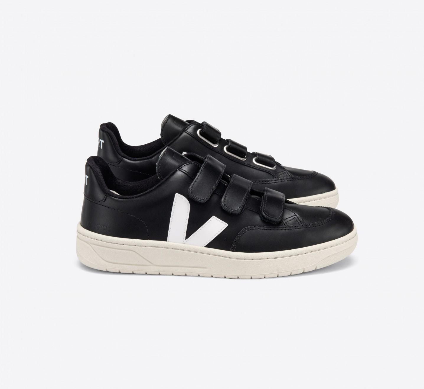 V-LOCK COURO BLACK WHITE